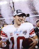 Eli Manning New York Giants - Super Bowl Confetti Photo