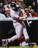 Kevin Youkilis Boston Red Sox - ALCS Home Run Autographed Photo (Hand Signed Collectable) Photo