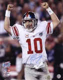 Eli Manning New York Giants - Super Bowl XLII Champions Photo