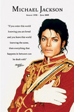 Michael Jackson Loved Quote Poster