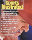 Pete Rose Cincinnati Reds 1999 Sports Illustrated Cover Autographed Photo (Hand Signed Collectable) Photo
