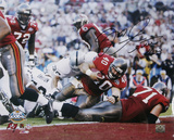 Mike Alstott Tampa Bay Buccaneers - SB XXXVI TD Photo