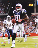 Randy Moss New England Patriots Autographed Photo (Hand Signed Collectable) Photo