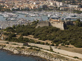 View From Helicopter of Fort Carre, Antibes, Alpes-Maritimes, Provence, French Riviera Photographic Print by Sergio Pitamitz