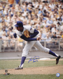 "Fergie Jenkins Chicago Cubs  w/ Inscription ""HOF 91"" Photo"