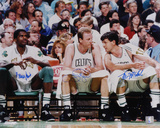 Larry Bird, Robert Parish and Kevin McHale Boston Celtics - Big 3 Fotografía