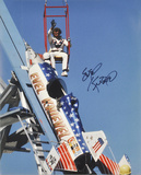 Evel Knievel (motorcycle Stuntman) -Sky Rocket Autographed Photo (Hand Signed Collectable) Photo