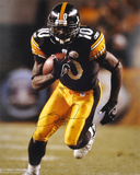 Santonio Holmes PittsburgSteelers - Running Autographed Photo (Hand Signed Collectable) Photo
