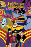 The Beatles (Yellow Submarine) 3-D Lenticular Poster Photo