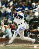 Ryan Theriot Chicago Cubs - Swinging Autographed Photo (Hand Signed Collectable) Fotografía