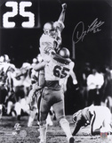 Doug Flutie Boston College Eagles Hail Mary Autographed Photo (Hand Signed Collectable) Foto