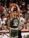 Kevin McHale Boston Celtics - Shooting Autographed Photo (Hand Signed Collectable) Photo
