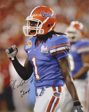 "Reggie Nelson Florida Gators  with Inscription ""08 CHAMPS"" Photo"