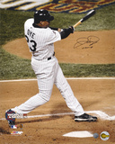 Jermaine Dye Chicago White Sox 2005 World Series  with WS MVP Inscription Photo