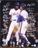 1986 New York Mets - Carter and Gooden -  Team Signed Photo