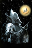Wolf Moon - Native American Print
