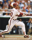 Mike Schmidt Philadelphia Phillies - Swinging Photo