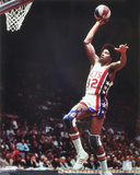 Julius Erving New Jersey Nets with Dr. J Inscription Autographed Photo (Hand Signed Collectable) Fotografía
