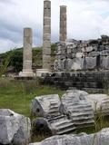 Thetemple of Leto at the Lycian Site of Letoon, Antalya Province, Anatolia, Turkey Photographic Print