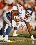Leonard Marshall New York Giants - Vs. 49ers Autographed Photo (Hand Signed Collectable) Photo