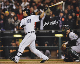 Magglio Ordonez Detroit Tigers - ALCS Walk-Off Home Run Autographed Photo (Hand Signed Collectable) Photo