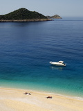 Kaputas Beach at Kalkan Area, Anatolia, Turkey, Asia Minor, Eurasia Photographic Print