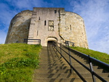 Clifford Tower, York, Yorkshire, England, United Kingdom, Europe Photographic Print by Alan Copson