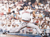 Jack Morris Detroit Tigers  with 84 WS Champs Inscription Photo