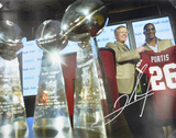 Clinton Portis Washington Redskins Press Conference Autographed Photo (Hand Signed Collectable) Photo