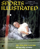 Jack Nicklaus Golf September 1960 Sports Illustrated Autographed Photo (Hand Signed Collectable) Photo