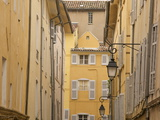 Typical Houses and Street, in the Old Aix, Aix En Provence, Provence, France, Europe Photographic Print by Guy Thouvenin