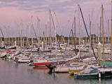 Sailing Boats, Port De Plaisance, St. Vaast La Hougue, Manche, Normandy, France, Europe Photographic Print by Guy Thouvenin