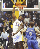 Shaquille O'Neal Los Angeles Lakers Dunk Autographed Photo (Hand Signed Collectable) Photo