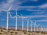 Wind Farm, Palm Springs, California, United States of America, North America Photographic Print by Sergio Pitamitz