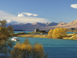 Church of the Good Shepherd, Lake Tekapo, Canterbury, South Island, New Zealand, Pacific Photographie par Jochen Schlenker