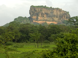Sigiriya (Lion Rock), UNESCO World Heritage Site, Central Sri Lanka, Asia Photographic Print by Tony Waltham