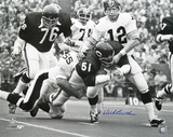 Dick Butkus Chicago Bears Autographed Photo (Hand Signed Collectable) Foto