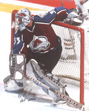 "Patrick Roy  with ""HOF 2006"" Inscription Photo"