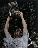 Chicago White Sox - 2005 World Champions Team Signed with 27 Signatures Photo