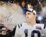 Peyton Manning Indianapolis Colts SB XLI Fireworks Autographed Photo (H& Signed Collectable) Photo