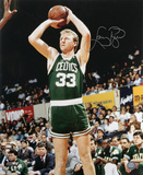 Larry Bird Boston Celtics Autographed Photo (Hand Signed Collectable) Fotografía