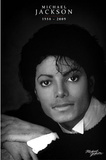 Michael Jackson (Commemorative, &#160;B&amp;W) Prints
