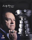 Scotty Bowman -10 Stanley Cups- Autographed Photo (Hand Signed Collectable) Photo