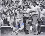 George Brett Kansas City Royals - Pine Tar Autographed Photo (Hand Signed Collectable) Photographie