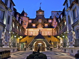Normandy Barriere Hotel in the Evening, Deauville, Normandy, France Photographic Print by Guy Thouvenin