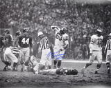 "Chuck Bednarik Philadelphia Eagles with ""HOF 67""  Autographed Photo (Hand Signed Collectable) Photo"
