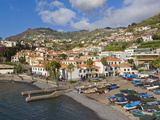 Fishing Boats in the Small South Coast Harbour of Camara De Lobos, Madeira, Portugal Photographic Print by Neale Clarke