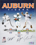 Auburn Tigers - Heisman Trophy Winners - Multi Signed Photo