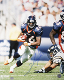 Clinton Portis Denver Broncos - Running Autographed Photo (Hand Signed Collectable) Photo