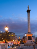 Nelsons Column and Trafalgar Square, London, England, United Kingdom, Europe Photographic Print by Alan Copson